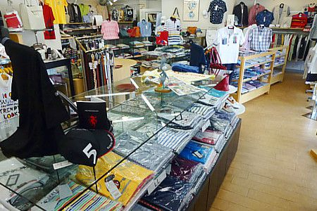 mens shop HiDe店内